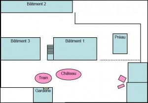 Plan de l'école